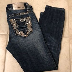 Grace Cropped Jeans 👖